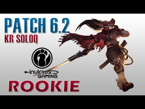 IG RooKie - Yasuo Mid Lane - KR SoloQ