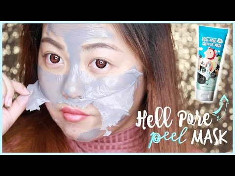 Hell Pores Clean Up Peel Mask | DEAD SKIN!