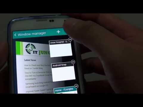 Samsung Galaxy S5: How to Close All Internet Browser Windows at Once