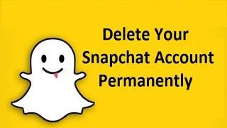 Delete Snapchat Account Permanently Howtosolveit