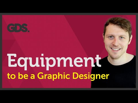 Equipment to be a Graphic designer? Ep31/45 [Beginners guide to Graphic Design]