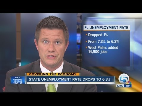 Florida unemployment rate up slightly since Feb.