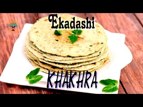 एकादशी खाखरा विधि - Ekadashi Khakhra Recipe || ISKCON Desire Tree - Recipes