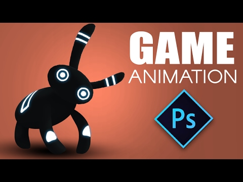 Game Design Character Animation in Photoshop - full character animation in Photoshop