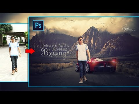 Make your own Action Movie Poster design Manipulation in Photoshop CC/CS6