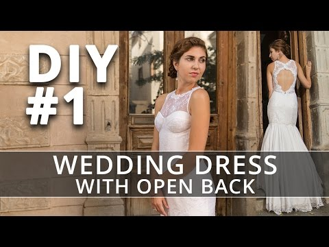 How to make a Wedding Dress? DIY Sew your own Bridal Gown. #1
