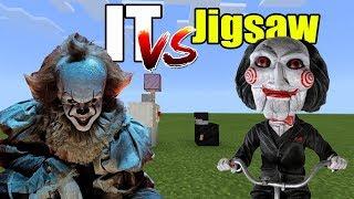IT vs Jigsaw | Minecraft PE