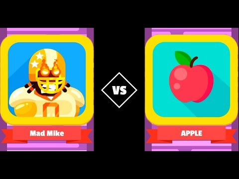 Bowmasters - BIG MIKE (METEOR) APPLE - Gameplay Walkthrough (171)