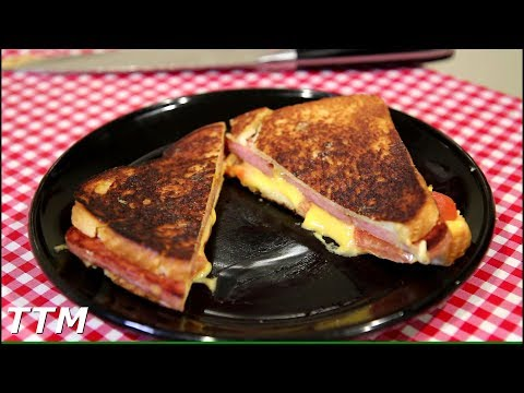 Grilled Spam and Cheese Sandwich Recipe