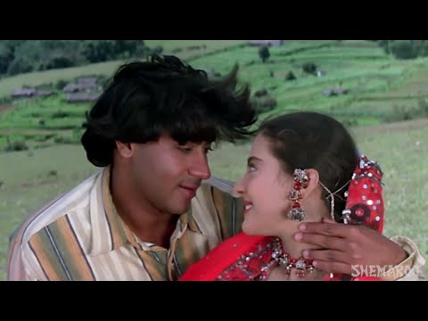 Xxx Mp4 Najaane Ek Nigah Mein Gundaraj 1995 Ajay Devgn Kajol Full Video Song HD 3gp Sex