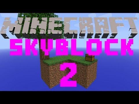 ❤ Minecraft Custom Maps - Skyblock Survival - Part 2 Snow! - Ft. XxxGamerChick26xxX
