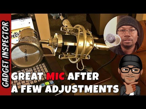 ZINGYOU BM-8000 Condenser Microphone Set Review - How to Get Rid of Buzzing and White Noise