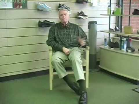 Drop Foot Treatment with Chung Shi Shoe (MS Symptoms)