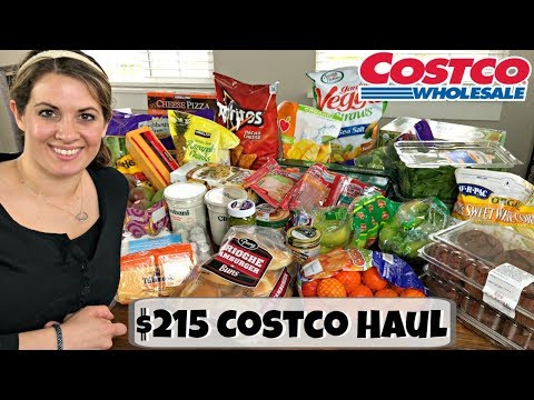 HUGE $215 COSTCO HAUL :: FAMILY OF 5 :: MARCH 22, 2018