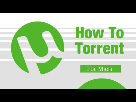 How To Torrent On A Mac Computer