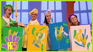 Learn Colors with Colorful Paintings and more Hi-5 Sharing Stories Season 11