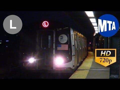 MTA NYC Subway Ride 2002 Kawasaki R143 #8208 on a 8 Av/14 St Bound L Train