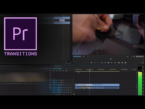 Adobe Premiere Pro CC Tutorial: How to Apply Transitions between clips