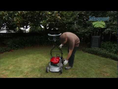 Masport Lawnmowers: Washport & Cleaning