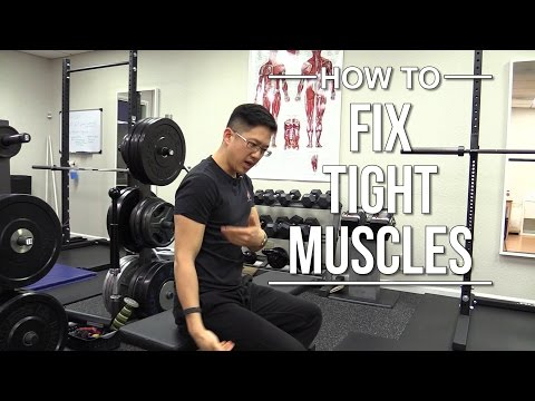 How do you fix tight muscles?