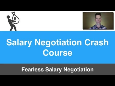 Josh Doody - Salary Negotiation Workshop