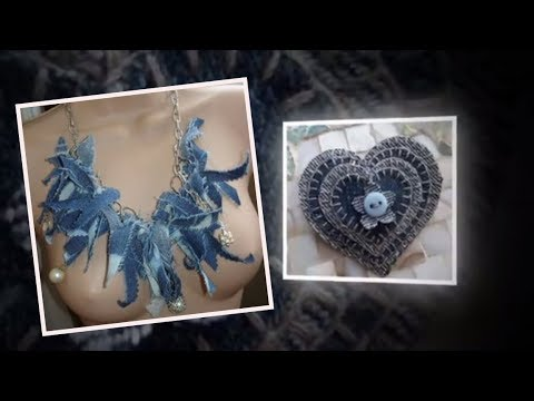 41 Quick Jewelry You Can Make With Your Old Jeans