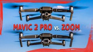 DJI Mavic Pro 2 vs DJI Mavic Zoom |Complete Review + Comparison