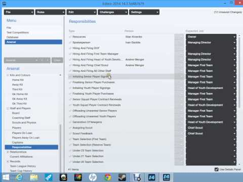 Lets Play Football Manager 2014-Database Editor