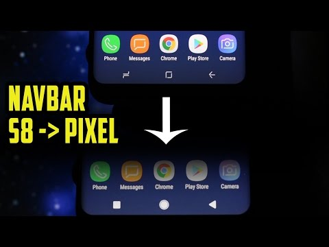 How to change Galaxy S8/S8+ Navbar Icons to the ones from Pixel XL | NO ROOT