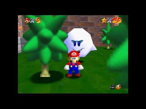 How to get Luigi in Super Mario 64