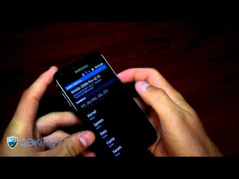 How to Install a Kernel Via Mobile Odin on the Samsung Epic 4G Touch