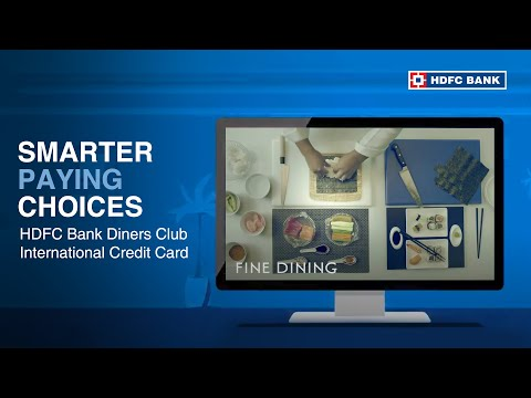HDFC Bank Diners Club International Credit Card | Where You Belong