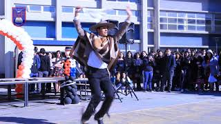 Fiestas Patrias liceo Almte. Pedro Espina Ritchie 2019