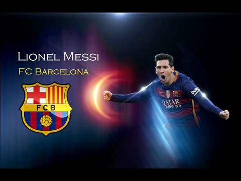 Creating wallpaper by Lionel Messi's photo using Photoshop. Photoshop Manipulation Tutorial