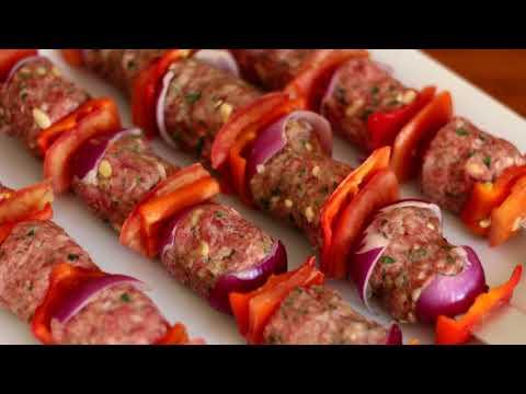 Kufta Kebab Recipe Israeli BBQ International Cuisines