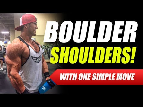 Grow Bigger and Wider DELTS With This One Movement - Mitch Muller
