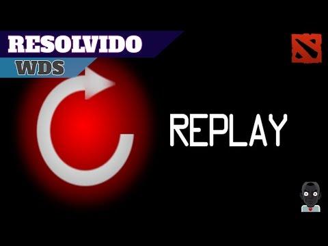 Dota 2 Reborn replay resolvido