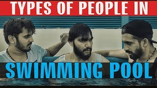 TYPES OF PEOPLE IN SWIMMING POOL | Karachi Vynz Official