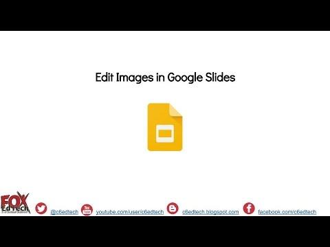Edit Images in Google Slides