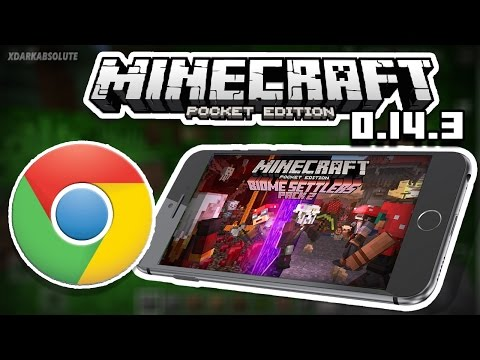 MCPE News - 0.14.3 Released - New Skin Pack - MCPE Now on Chrome OS