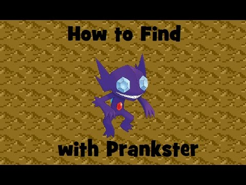 How to Find: Prankster Sableye