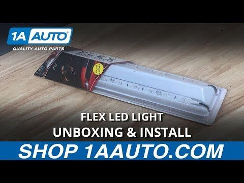 Flex LED Light - Unboxing & Install