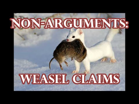 Non-arguments: Improper/Invalid Hypothesis and Weasel Claims