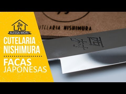 ⭐ APRESENTAÇÃO DA CUTELARIA NISHIMURA | FACAS ARTESANAIS JAPONESAS