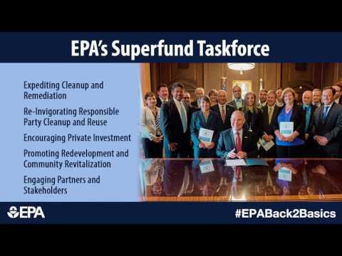 EPA's Superfund Taskforce