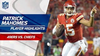 Every Patrick Mahomes Play vs. San Francisco | 49ers vs. Chiefs | Preseason Wk 1 Player Highlights