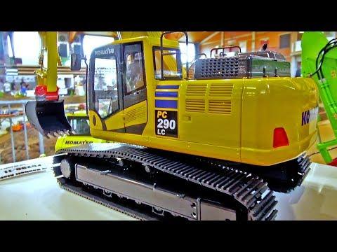 NEW Fumotec Komatsu PC 290 LC! Mini Baustelle Alsfeld 2017! RC Excavator!
