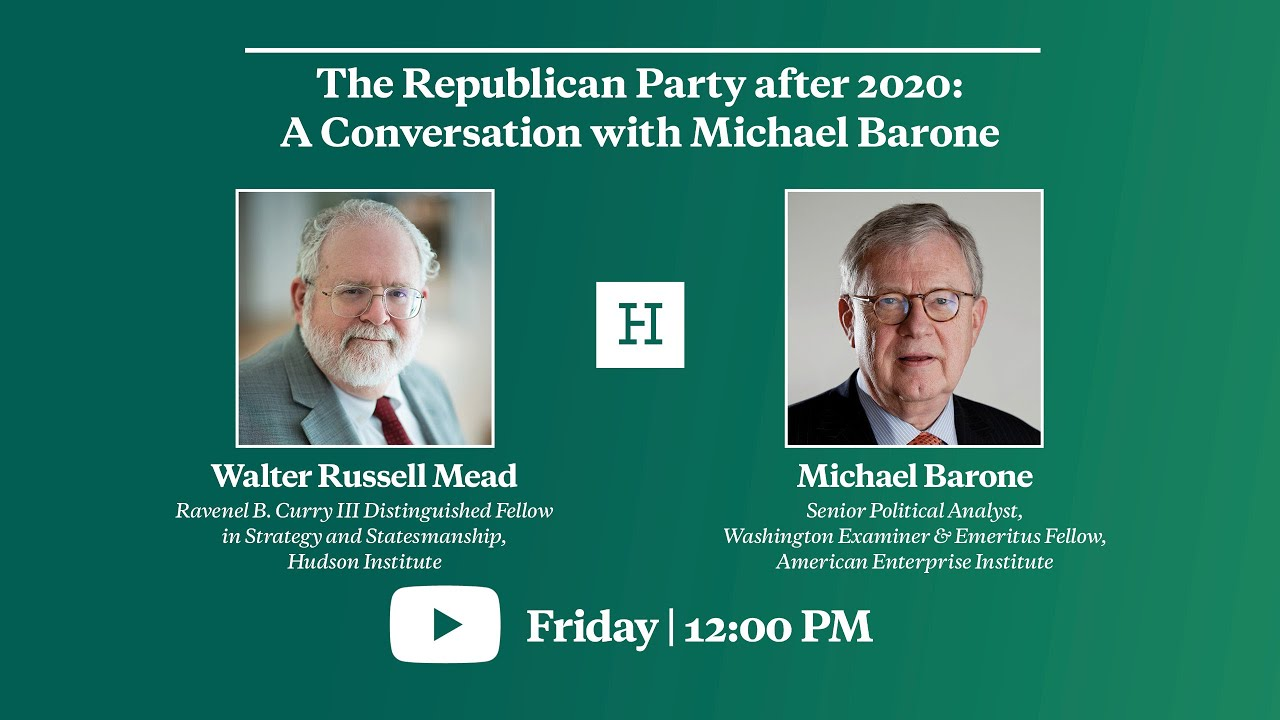 The Republican Party after 2020: A Conversation with Michael Barone