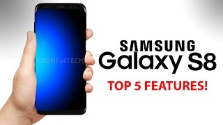 Samsung Galaxy S8 - TOP 5 BEST New Features!