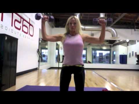 Toned Arms -No bulk just lean muscle. Arms like Cameron Diaz and Jennifer Aniston